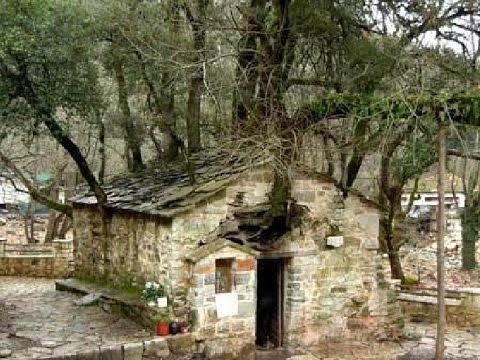 SAINT THEODORA  MONASTERY (VASTAS)GREECE MIRACLE CHURCH