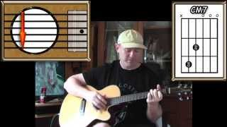 Gentle On My Mind - Glen Campbell - Acoustic Guitar Lesson (easy - ish)