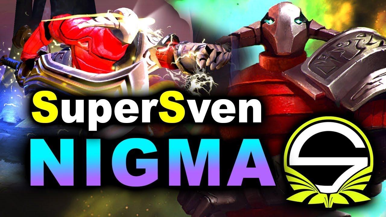 NIGMA vs SINGULARITY – SUPER SVEN NEW 7.23 – LEIPZIG MAJOR DreamLeague 13 DOTA 2