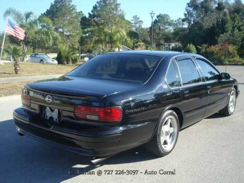 1995 Chevrolet Impala SS @ Auto Corral - YouTube