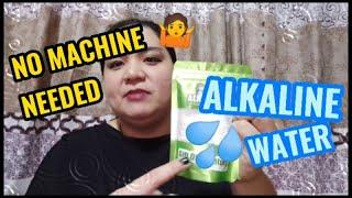 Alkarock Alkaline Water No Machine Needed
