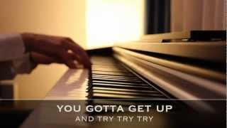Try - Pink - Piano Karaoke