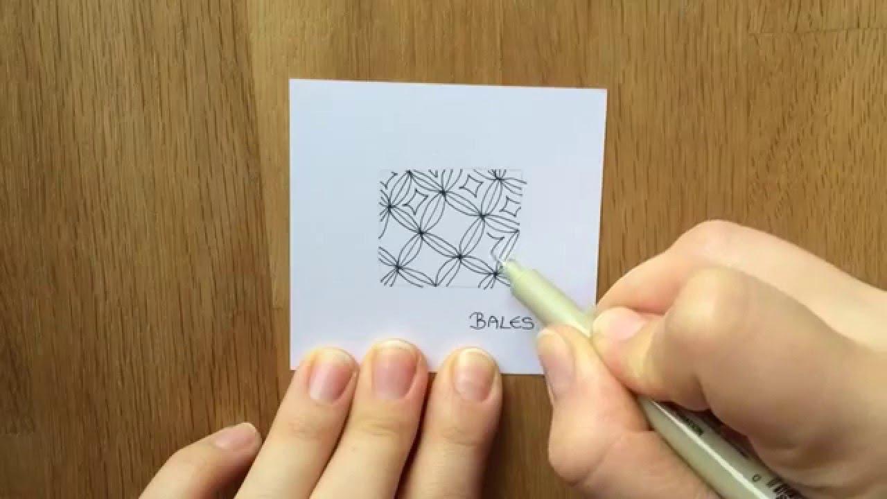 zentangle muster bales - Zentangle Muster