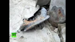 Последствия взрывов на военном складе в Балаклее: разрушенные дома и снаряды на улицах города