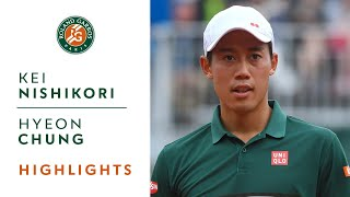 Kei Nishikori v Hyeon Chung Highlights - Men