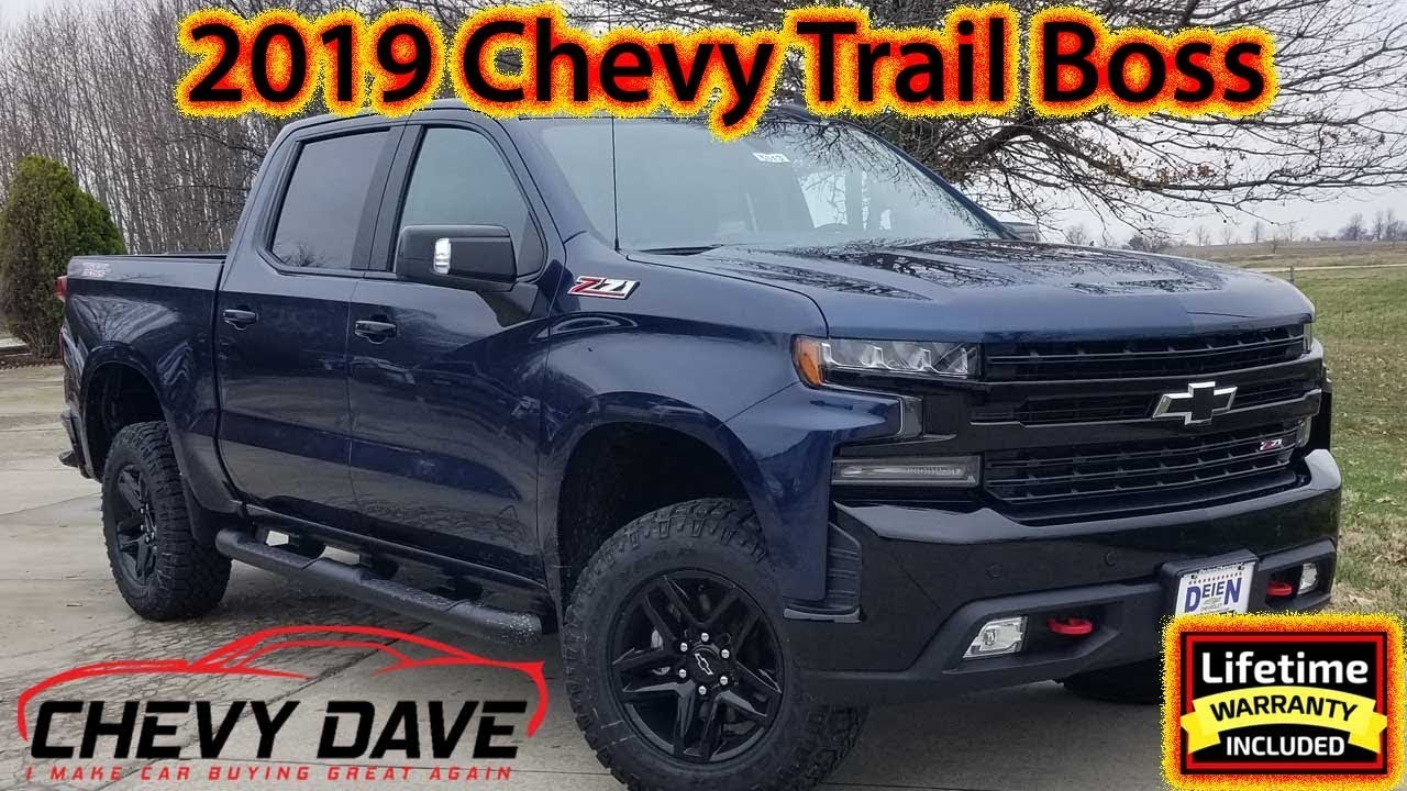 2019 Chevrolet Silverado Trail Boss Full Review 😎 - YouTube