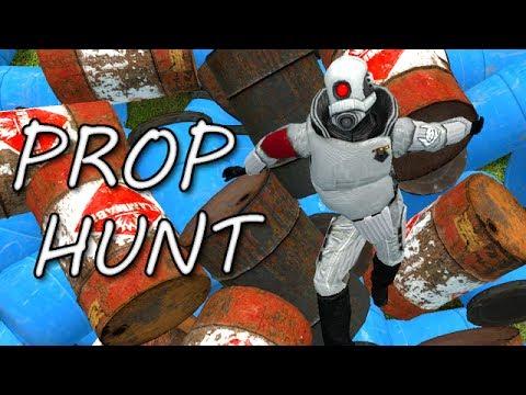 SHOOTING FISH IN A BARREL! (Garry's Mod Prop Hunt)