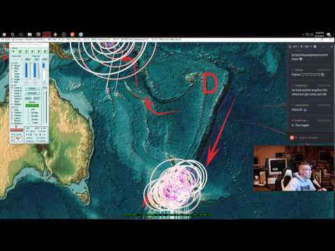 4/15/2017 -- Nightly Earthquake Update + Forecast -- West Coast USA on watch, silence across Pacific