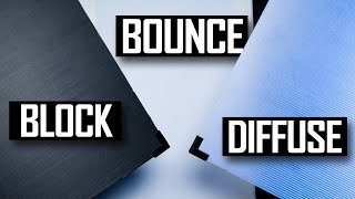 Better Lighting for Your Videos: Flags, Bounce, Diffusion