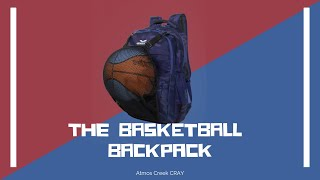 32 Ltr Printed Casual Laptop Basketball Backpack AC CRAY | Atmos Creek