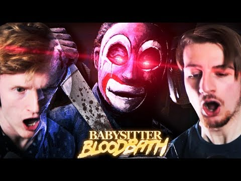 THERE'S SOMEONE OUTSIDE.. || Babysitter Bloodbath (Part 1)