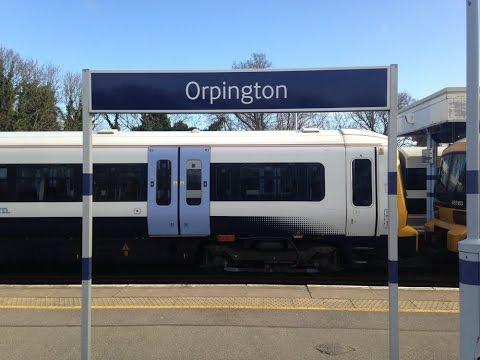 Full Journey on Southeastern from London Victoria to Orpington (via Herne Hill and Bromley South)