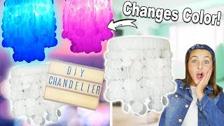 How To Make A Chandelier | BEST Bedroom Decor Ideas For Teens