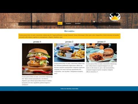 como hacer una pagina web responsive 2020 parte 3