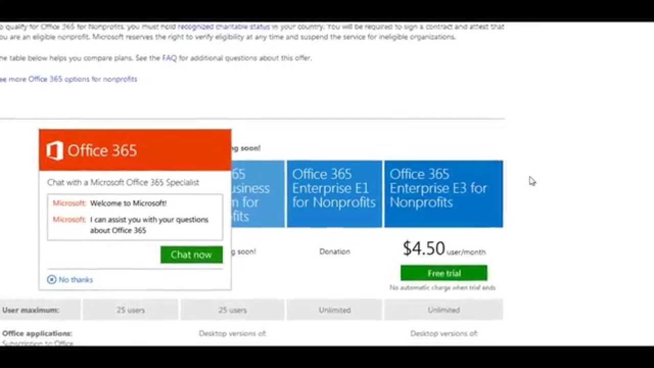 Microsoft Office Trial >> How To Set Up Your Microsoft Office 365 Trial For Nonprofit