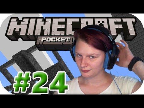 Bissi Strip Mining - #24 Let's Play Minecraft PE W10 [Deutsch/German - Full HD]