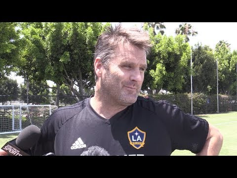LA Galaxy Manager Asked If Zlatan Ibrahimovic Is Joining - Curt Onalfo & Gio Dos Santos Interviews