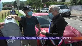 Yvelines | Des bornes de recharges électriques installées à Aigremont