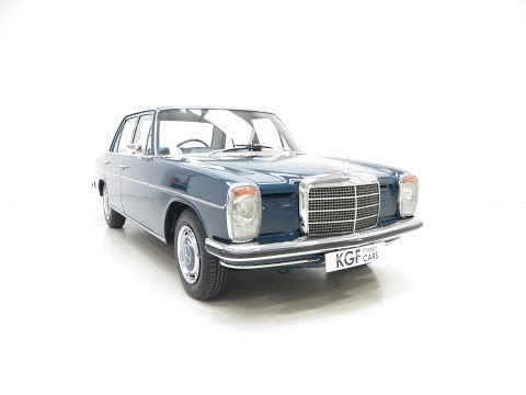 An Irreplaceable Mercedes-Benz 250 (W114) with just 6,212 Miles and Two Owners. SOLD!