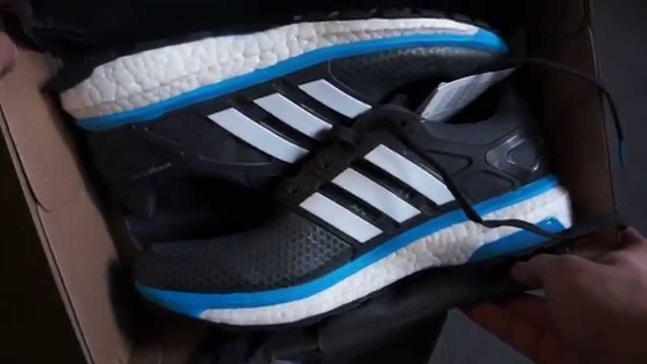 meilleur pas cher 53469 c73d7 ADIDAS - Energy Boost 2.0 ATR (grey / blue / white) - unboxing & on feet  review