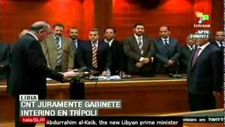 Transitional Cabinet named in Libya