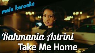 Take Me Home - Rahmania Astrini (male karaoke akustik)