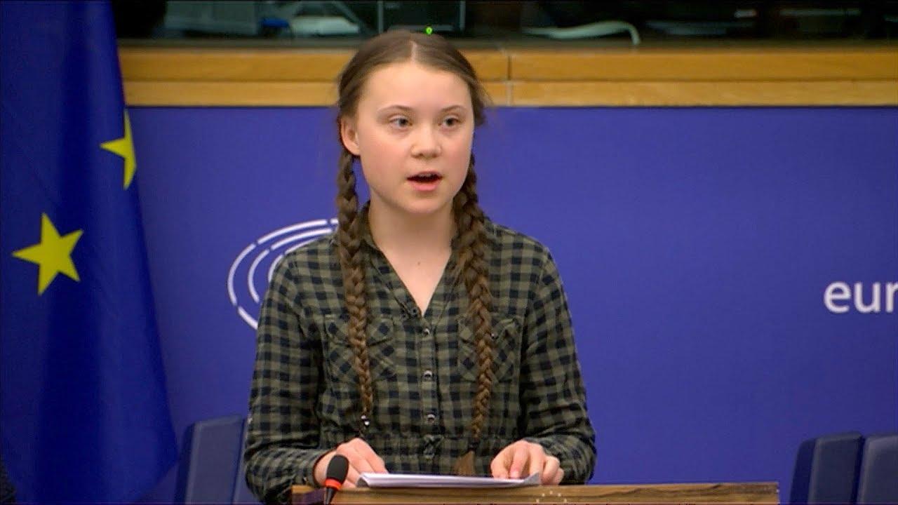 Greta Thunberg Urges Meps To Panic Like The House Is On