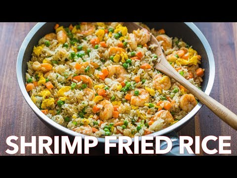 Easy Seafood Dinner - Shrimp Fried Rice Recipe