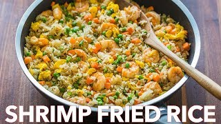 Easy Seafood Dinner   Shrimp Fried Rice Recipe