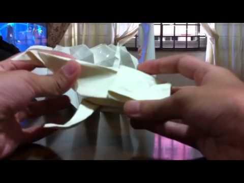 Origami koi fish not a tutorial youtube for Origami koi tutorial