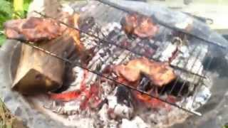 Out Door Cooking/ Charbroiled Marinated Pork Chops