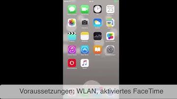 FaceTime auf iPhone und iPad einrichten