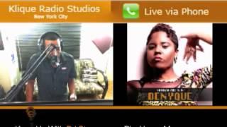 """KliqueRadio.com: Interviews Denyque """"Supergirl 2 Da Rescue!!!"""""""