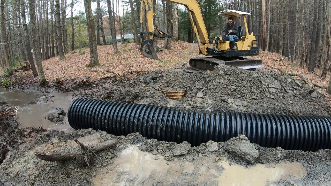 replacing-a-culvert-pipe