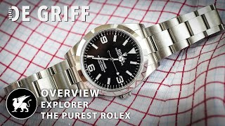 Rolex Explorer 1 overview - Reference 214270 -  Review of an iconic Rolex.