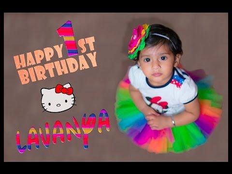 Lavanya's 1st Birthday Party - Slideshow Presentation
