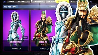 NEW SKIN FORTNITE ITEM SHOP TODAY - ITEM SHOP LIVE COUNTDOWN UPDATE (Fortnite Battle Royale)