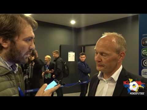 Niels Frederiksen, Denmark U21 coach, on Italy-Denmark (sub ita)