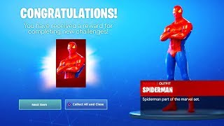 How To Get NEW AVENGERS ENDGAME FREE SKIN REWARDS in Fortnite! (Fortnite Avengers Endgame)