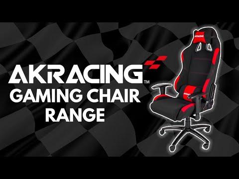 AK Racing Chair Range Overview