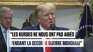 """Soutenir les Kurdes ? """"Ils ne nous ont pas aidés en Normandie"""", répond Trump"""