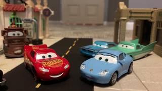 Disney Pixar's Cars 3 Travel To Rusteze Racing Center Remake!
