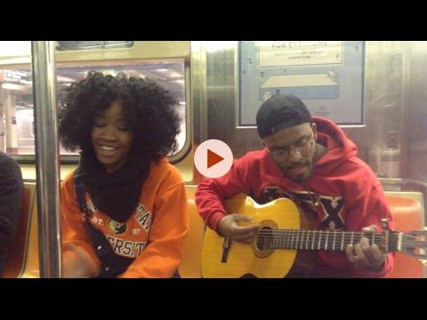 Elle Varner- So Fly (So Sunday Morning PSA Subway Cover Performance