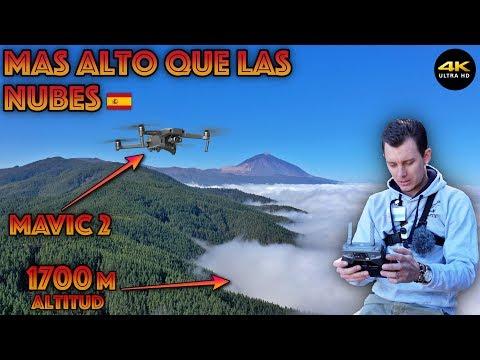 """Volando Mas Alto Que Las Nubes """"Mavic2 Pro"""" 4K/DronePilot"""