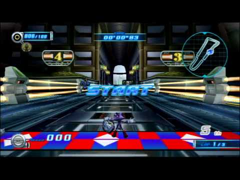 Sonic Riders Zero Gravity (Wii) World Grand Prix