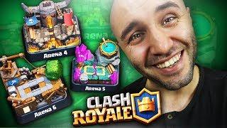 4., 5. ve 6. ARENA İÇİN EN İYİ DESTEM Clash Royale Yeni Başlayan