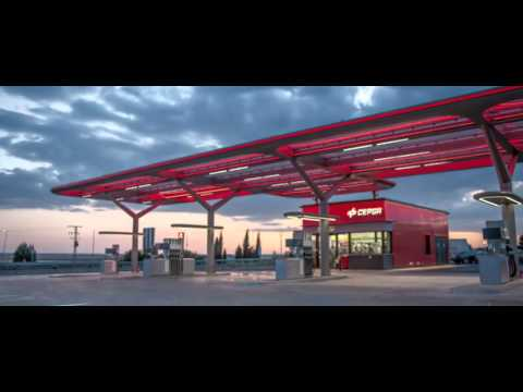 New Cepsa Service Stations