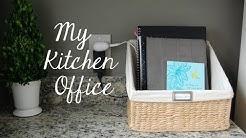 "My New ""Kitchen Office"""