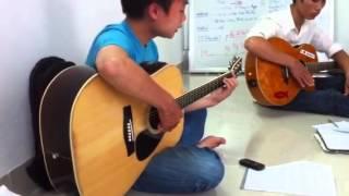 Lớp học ghi ta, ban thanh niên tin lành LSS Hà Nội