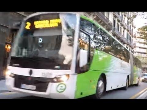 Escania Sunsundegui SB3 articulated bus, Barcelona metropolitan area